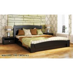Кровать деревянная из массива сосны Классик Плюс