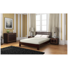 Кровать из массива сосны Вероника