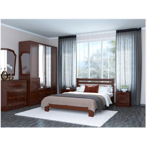Деревянная кровать из массива сосны Вероника