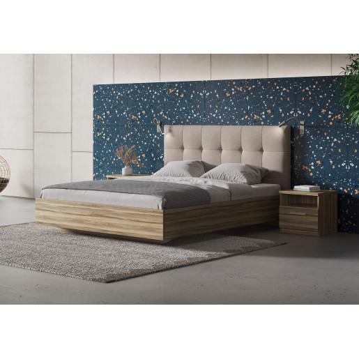 Мягкая кровать с изголовьем Vena (Вена)